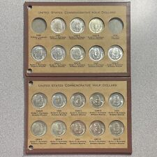 Complete and Original Booker T. Washington Commemorative Half Dollar Set
