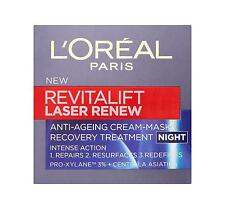 L'Oreal Paris Revitalift laser Renew Anti-Ageing cream mask Night Cream - 15ml