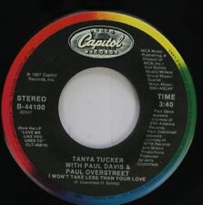 Country 45 Tanya Tucker With Paul Davis & Paul Overstreet - I Won'T Take Less Th