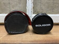 Soligor Camera Lens Auto Tele Converter 2x With Matching Leather Case