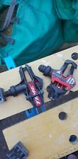 Time titanium Xpresso 10,12 pedals used for 12 months, red