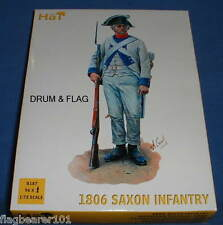 HAT 8187 - 1806 SAXON INFANTRY  - 1/72 SCALE PLASTIC - JENA ERA