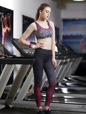 Women Sport Workout YOGA Running Pants High Waist Cropped Leggings Fitnes