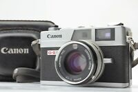 【As-is】Canon Canonet QL17 G-III GIII Rangefinder 40mm f/1.7 w/ Case From Japan