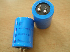 Snap in Aluminium Capacitor 10000uf 25v size 35 x 50 mabe by BCC  nice  Z530