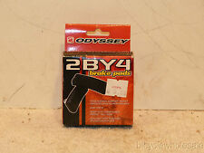 Odyssey 2BY4 threaded brake pads-1 pair NEW!