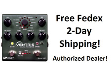 New Source Audio Sa262 Ventris Dual Reverb One Series Effects Pedal
