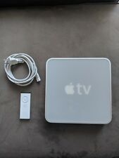 Used Apple TV (1st Generation) 40GB aluminum - A1218 with remote and power cable