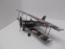 Aluminum soda can handcrafted airplane/PEPSI-MAX (BI-PLANE)