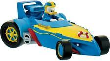 La Maison de Mickey figurine Donald Pilote de course dans sa voiture 10cm 154601