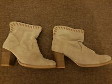 Levi's suede boots.  Size 4.5. Great condition.
