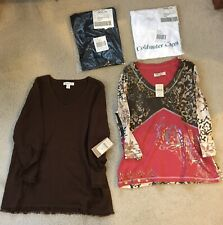 Coldwater Creek Women's Clothing Sizes Medium & Large Lot of 7 NWT