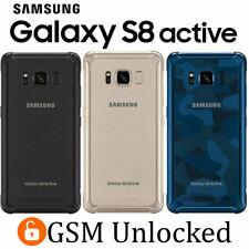 Samsung Galaxy S8 Active SM-G892A - 64GB (GSM Unlocked) Gray | Gold | Blue
