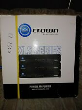 crown amplifier xls 202B power amplifier, never used