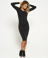 Superdry Womens Midi Long Sleeve Dress