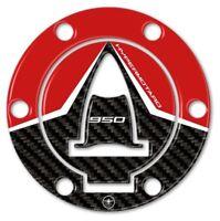 ADESIVO in resina 3D TAPPO SERBATOIO compatibile per MOTO DUCATI HYPERMOTARD 950
