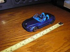 Nice Vintage 1/43 Bburago BMW M3 Roadster Sports Car Convertible Blue