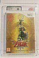 The Legend Of Zelda Skyward Sword UKG 85 LIKE VGA GRADED PAL Nintendo Wii 2012