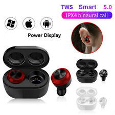 Smart 5.0 Wireless Headset Earphones Stereo In-Ear Earbuds For Android/IOS