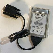 NEU Quatech SSPR - 100 G Serial Port PCMCIA Karte 930-1100-01D-G