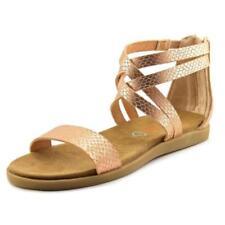 Calzado de niña sandalias de piel color principal rosa