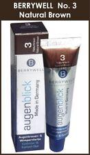 Berrywell Tint 3 Natural Brown Eyelash Lash Eyebrow Brow Tinting Colour Dye Eyes