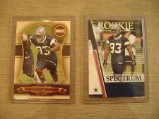 Anthony Spencer 2007 Playoff Absolute Spectrum Rc Lot Dallas Cowboys Mint