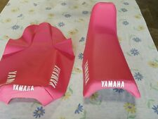 YAMAHA YZ80 1983 TO 1992  MODEL REPLACEMENT SEAT COVER PINK  (Y78)