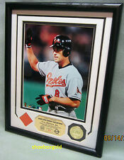 CAL RIPKEN JR., Game Used ROOKIE Jersey PHOTOMINT, Limited Edition 500 and COAs