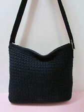 Talbots Navy Blue Crocheted Shoulder Bag