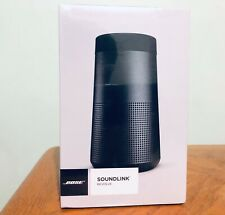 Original Bose SoundLink Revolve Portable 360 Bluetooth Speaker. Triple Black.NIB