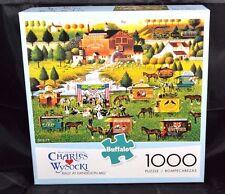 """Charles Wysocki """"Rally at Dandelion Mill"""" 1000 Piece Jigsaw Puzzle - Americana"""