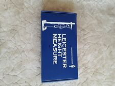 Leicester Height Measure. Very good cond, measures ft/inches and cm