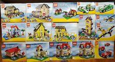 Lego Creator Instruction 16 books 4954 7346 6754 5766 4996 plus more