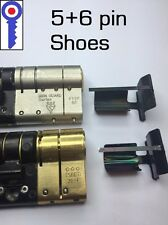 Locksmith tool re-pinning shoes for Euro cylinder 5+6 pin locks 1st P&P