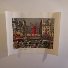 Poster Maurice LEGENDRE Le Moulin Rouge 1976 Editions KRISARTS Paris France
