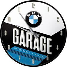 BMW Garage - Wanduhr Original BMW Uhr Retro Werkstatt Shop Deko Service Schild