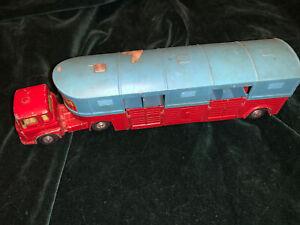 Vintage 1960's Corgi Toys #1130 Chipperfield Circus Horse Transporter Truck #3