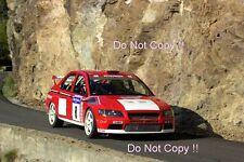 Freddy LOIX Mitsubishi Lancer Evo WRC tour de corse rally 2001 Photographie 3
