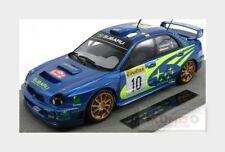 Subaru Impreza #10 Winner Rally Montecarlo 2002 Makinen TOPMARQUES 1:18 TOP037A