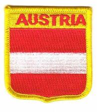 Wappen Aufnäher Österreich Patch Flagge Fahne