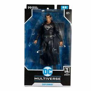 "McFarlane Toys Zach Snyder Justice League Superman DC 7""Action Figure *INHAND"