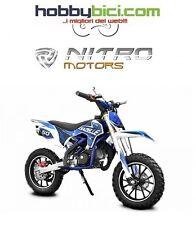 Minicross GAZELLE SPORT - Carburatore maggiorato e frizione NITRO MOTORS blu