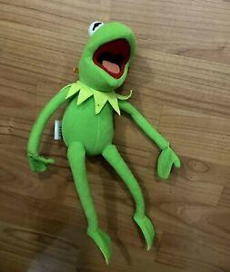 "Nanco Kermit the Frog Jim Henson's 11"" Muppets Plush Stuffed Animal"