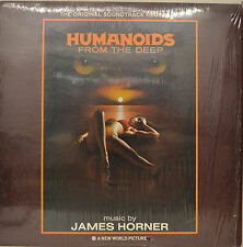"""ORIENTE - SOUNDTRACK - HUMANOIDES FROM THE DEEP - JAMES HORNER 12"""" LP (M901)"""