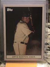 2007 Topps # WM4 DAVID ORTIZ Boston Red Sox Walmart 1912 T Design $$ RARE INSERT
