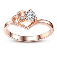Fashion Trillion Cut 2.95 ct rose saphir 14kt Black Gold Filled Ring Taille 6-10