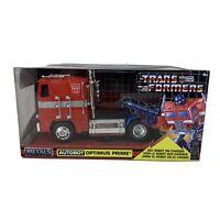 2019 Jada Metals Transformers G1 Optimus Prime Die-Cast Truck 1:32 Scale Autobot