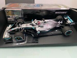 Mercedes AMG F1 W10 EQ Power+ Hamilton World Champion 2019 in 1:18 MEGARAR