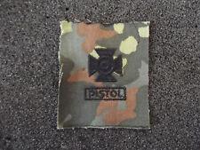 A4-087 US schiessabzeichen per BW tarnfleck Sharpshooter Pistol Nero
